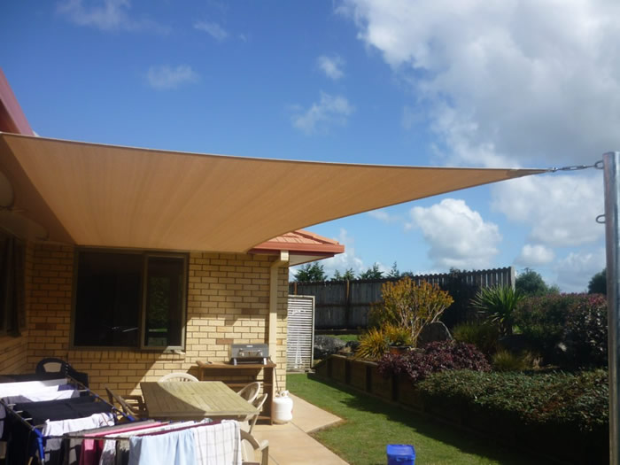 Deck Shade Sail Patio